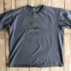 Banana Republic T-shirt Mens Medium Blue GUC